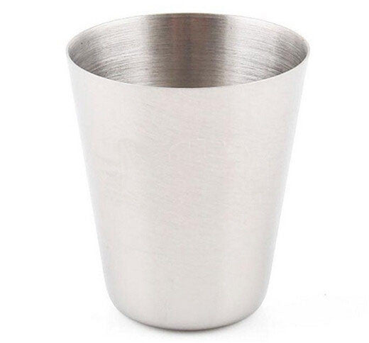 1pcs 35ml Drinking Glass Stainless Steel Shot Glasses Cups Wine Beer Whiskey Mugs Outdoor Travel Cup