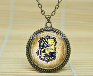Harry Potter Hufflepuff Crest Necklace