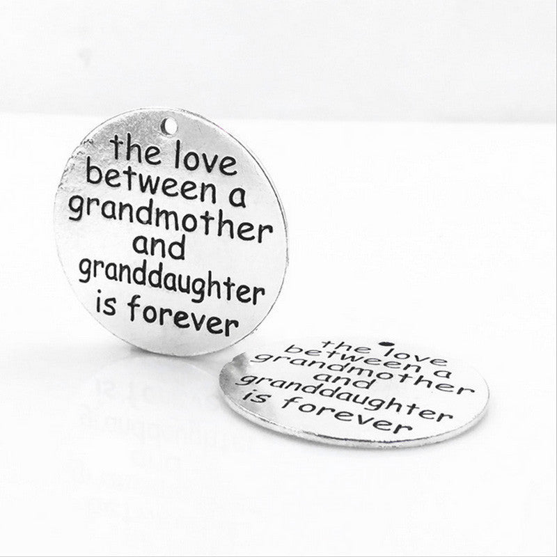 Grandmother & Granddaughter = Love