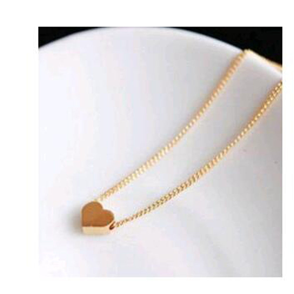2015 New *high quality  Personalized love hearts necklace short paragraph fashion necklaces & pendants necklaces  X-013