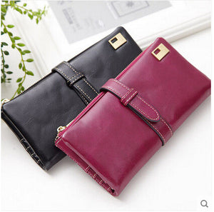 Women's Lux Leather Wallet