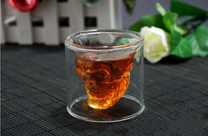 Skull Head Shot Glass