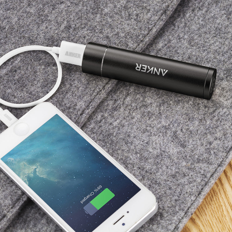 Anker PowerCore+ Mini Power Bank 3350mAh PowerIQ Portable Charger Powerbank USB Charger for Phone