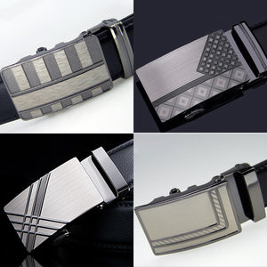 Belt 2015 new arrival men automatic buckle brand designer leather belts for business men which high quality and luxury for man