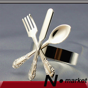 Free shipping 2015 Lovable Silver Golden Dinnerware Metal Napkin Rings For Weddings Party Home Decoration Napkin Holder