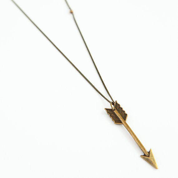 Hunger Games Katniss Arrow Pendant Necklace