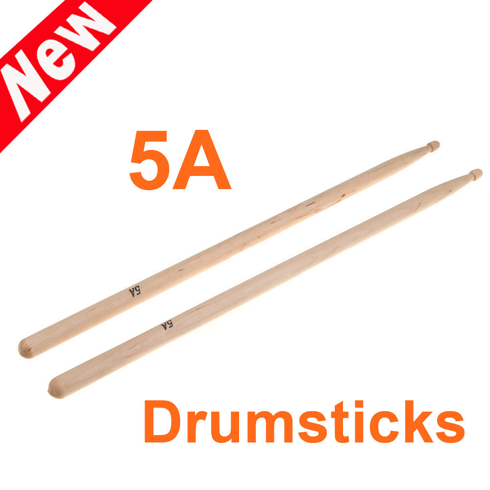 Maple 5a Drum Sticks