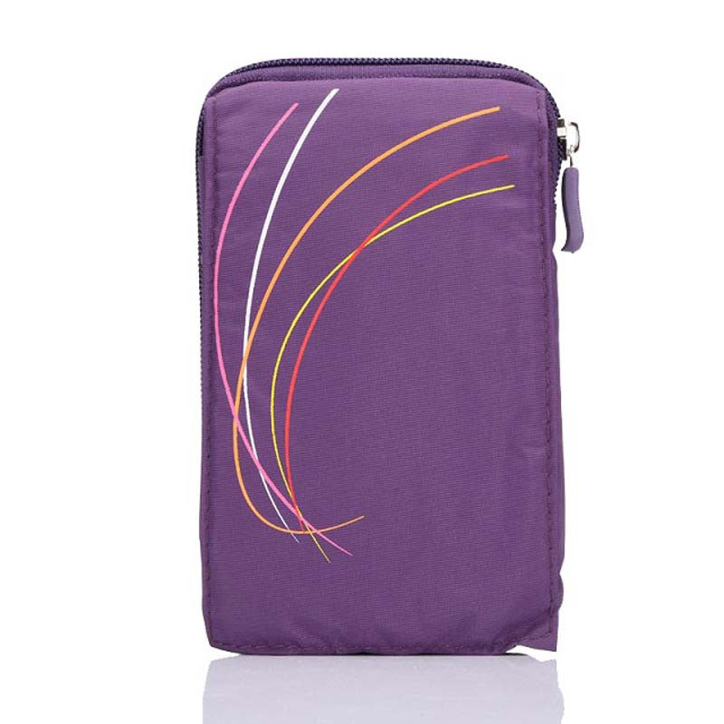 Stylist Purple Phone Pouch