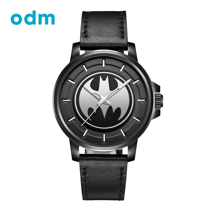 ODM Top Luxury Brand Fashion Casual Creative Design Leather Strap Men Watch Waterproof Wristwatch BMF-M03