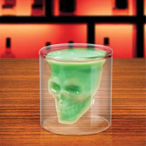Awesome Crystal Skull Shot Glass