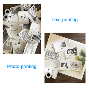 Portable Thermal Bluetooth Printer 58mm Mini Wireless POS Thermal Picture Photo Printer for Android IOS Mobile Phone GZM5804