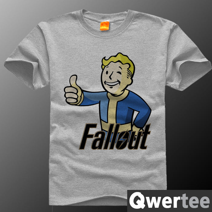 Radiation fallout 7 short-sleeve T-shirt plus size plus size