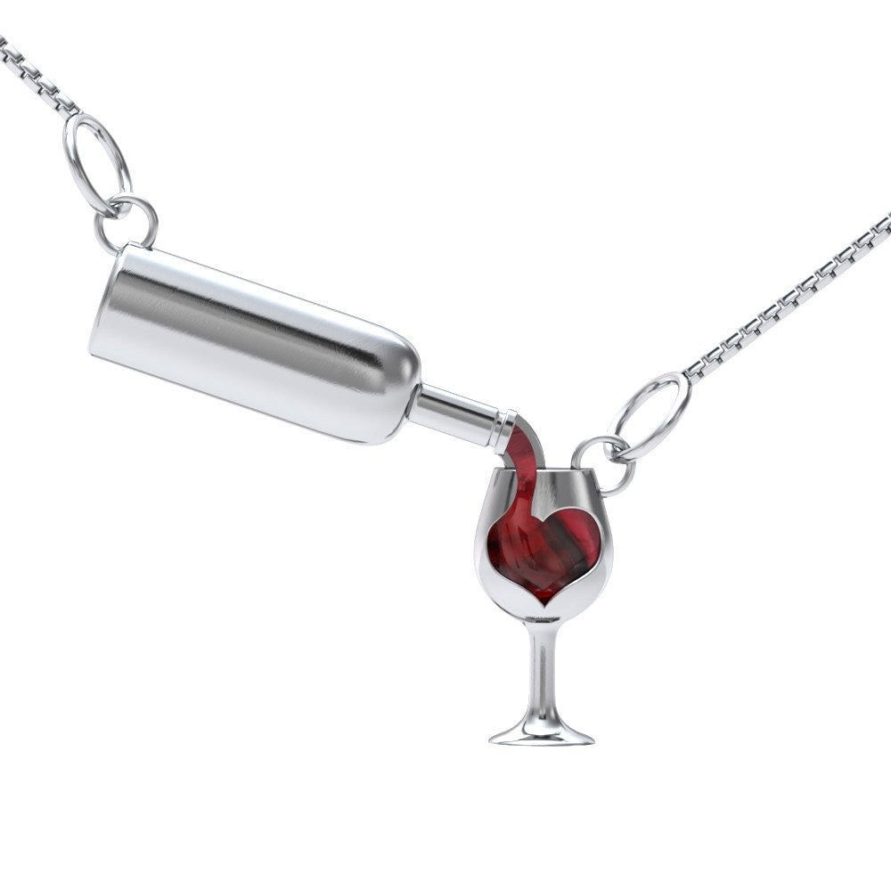 Love Wine Necklace or Bracelet