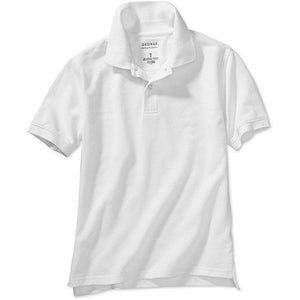 George Boys School Uniforms Short Sleeve Polo Shirt with Stain Resistant Scotchgard Treatment