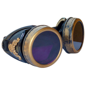 Steampunk GogGLes VicTORian Novelty Glasses cosplay Antique filigree S4