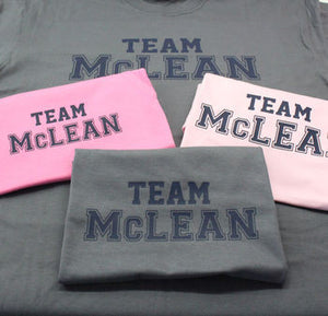 'Team' Surname Family T Shirt Set!