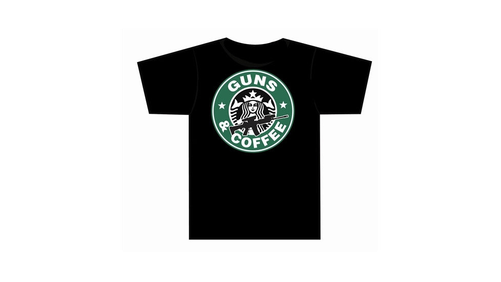 TUFF Products AR/M4 Guns/Coffee T Shirt
