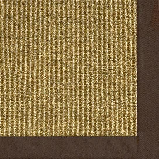Bordered Jumbo Boucle Sisal Rug