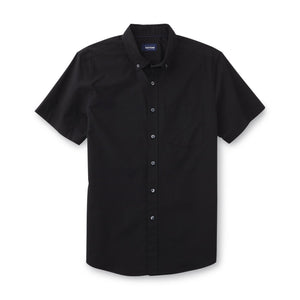 Basic Editions Men's Button-Front ShirtBasic Editions Men's Button-Front Shirt
