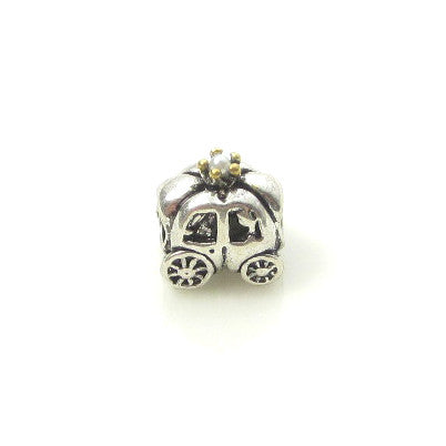 Silver Charms Original Design Beads European DIY Teddy Bear Frog Animal Charm Angle Heart Beads Mixed Castle