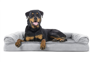FurHaven Plush & Suede Orthopedic Sofa Dog Bed Pet Bed