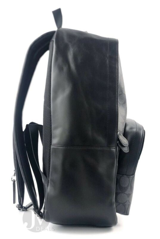 BRAND NEW COACH MEN'S (F49324 F49313 F72483) LARGE HOUSTON LEATHER BACKPACK BAG