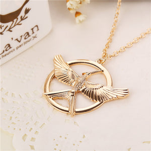 New Arrival! The Hunger Games Mocking Jay Vintage Necklace- Unisex