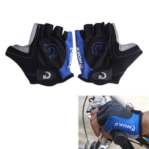 Cool Unisex Cycling Gloves Men Sports Half Finger Anti Slip Gel Pad Motorcycle MTB Road Bike Gloves S-XL 3 Colors Bicycle Gloves