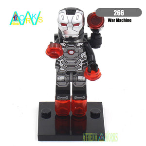 Single Sale Minifigures Sale Marvel Super Hero Avengers Iron Man Batman Deadpool Building Blocks Compatible With Legoe
