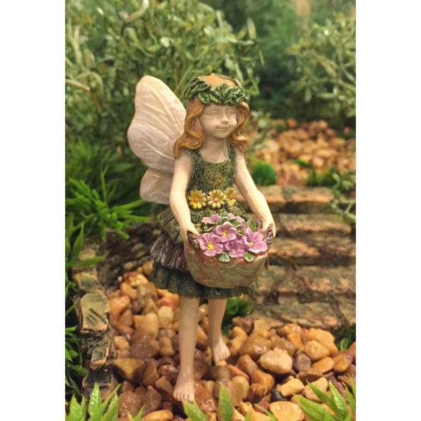 Autumn Mini Fairy: Fairy Garden Miniature - Baby Feathers Gift Shop