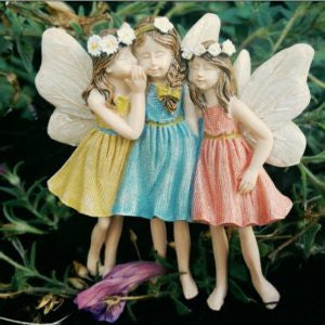 Sharing Secrets: Mini Fairies: Fairy Garden Miniatures - Baby Feathers Gift Shop