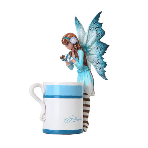Hot Cocoa Faery / Amy Brown Fairy Collection - Baby Feathers
