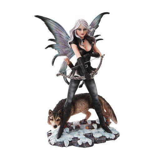 Fairy Huntress with Wolf - Baby Feathers