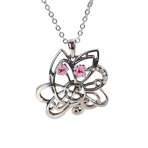 Butterfly Celtic Knot Necklace - Baby Feathers Gift Shop