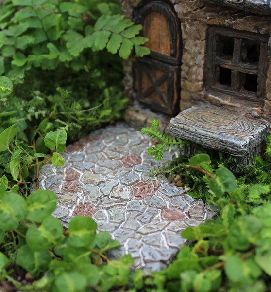 Curved Pathway: Fairy Garden Landscaping Miniature - Baby Feathers Gift Shop