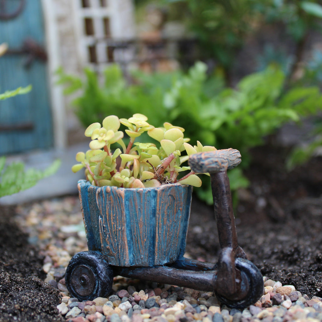 Bicycle Planter Fairy Garden Miniature Accessories - Baby Feathers Gift Shop