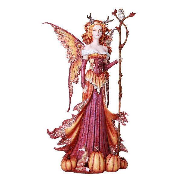 Amy Brown Large Pumpkin Queen Fairy - Baby Feathers Gift Shop