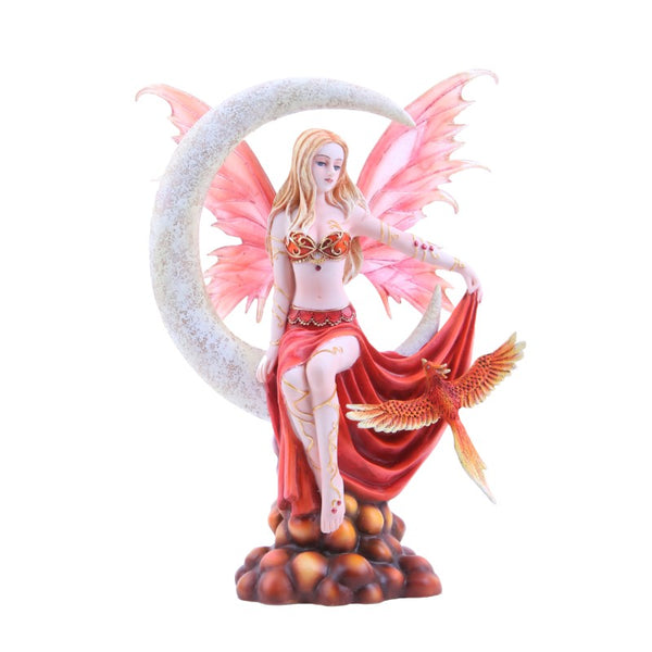 Nene Thomas Celestial Fire Moon Fairy Collectible Figurine - Baby Feathers Gift Shop