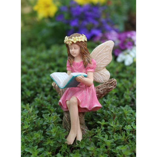 Abigail Mini Fairy: Fairy Garden Miniature - Baby Feathers Gift Shop