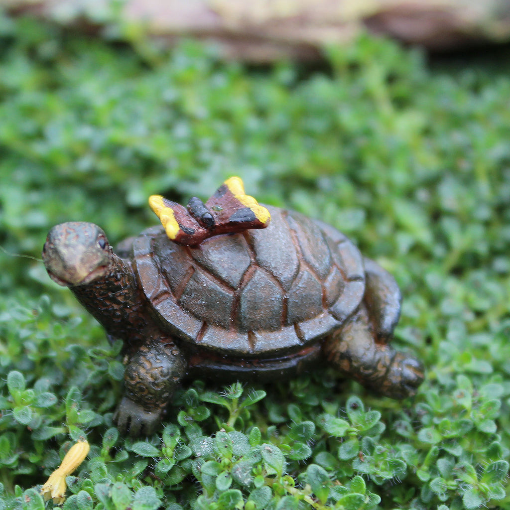 Tony the Turtle: Fairy Garden Miniature Animal