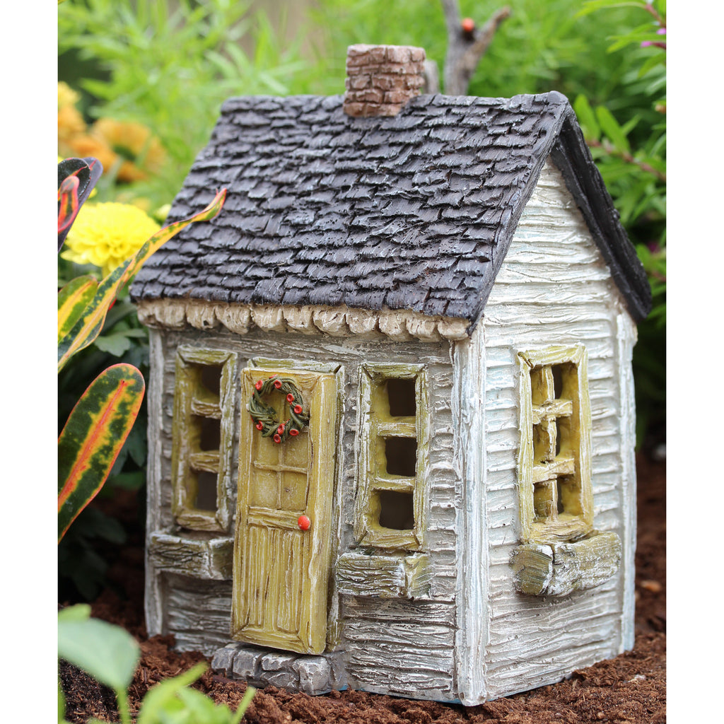 Primrose Cottage with Hinged Door Fairy Cottage: Fairy Garden Miniature House - Baby Feathers Gift Shop