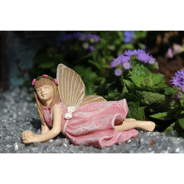 Addison Jayne Mini Fairy: Fairy Garden Miniature Laying Down - Baby Feathers Gift Shop