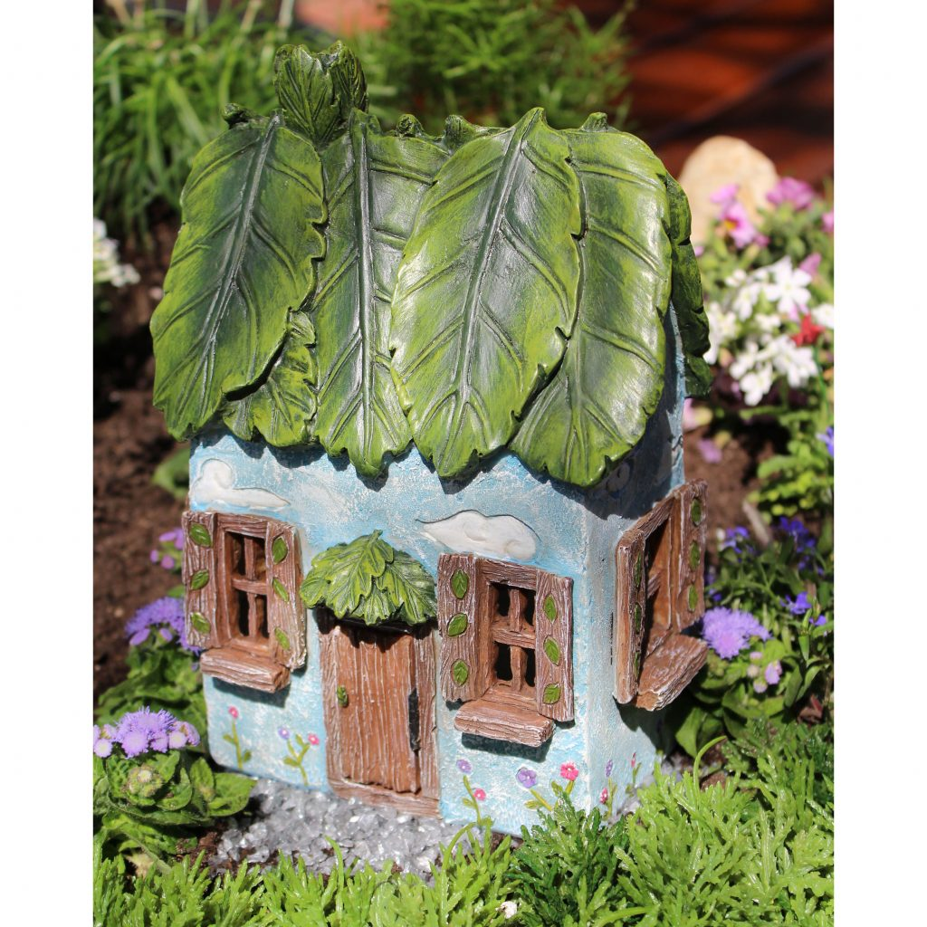 Windy Ridge Fairy Cottage: Fairy Garden Miniature House - Baby Feathers Gift Shop