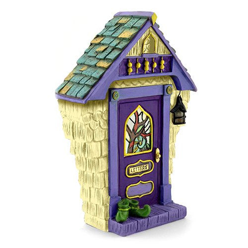 Ashbury Solar Fairy Door: Fairy Garden Landscaping Miniature Door - Baby Feathers Gift Shop