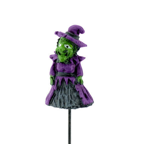 Halloween Micro Witch: Fairy Garden Holiday Theme Miniature Accessories - Baby Feathers Gift Shop