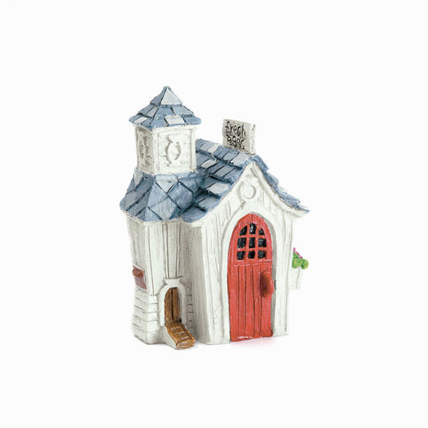 Chicken Coop House: Barnyard Garden: Fairy Garden Miniature House - Baby Feathers Gift Shop