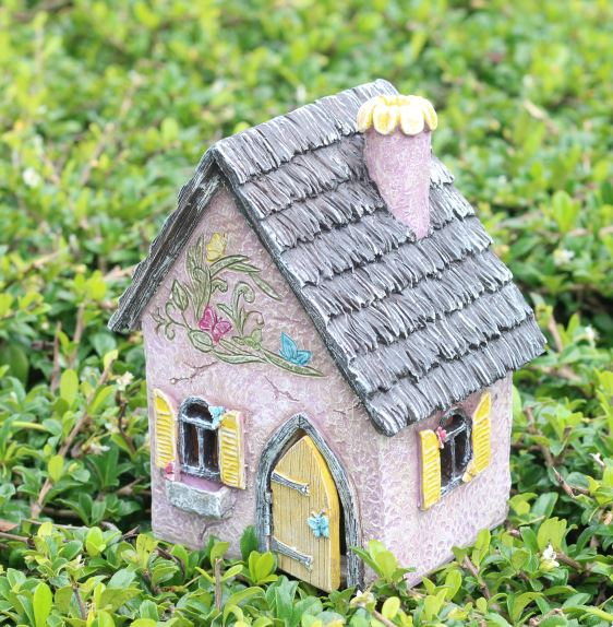 Brookside III Fairy Cottage: Fairy Garden Miniature House - Baby Feathers Gift Shop