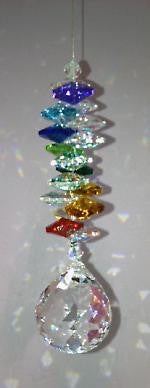 30mm Hanging Crystal Cascades - Baby Feathers Gift Shop