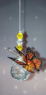 20mm Butterfly Hanging - Baby Feathers Gift Shop