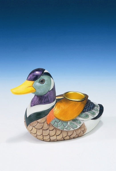 Duck Candle Holder - Baby Feathers Gift Shop